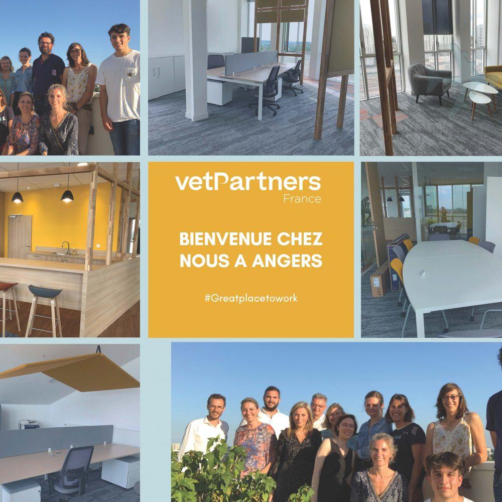 VetPartners France ouvre son nouveau siège social à Angers