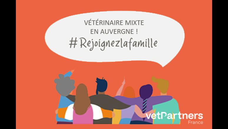 Remplacement Vétérinaire mixte en Auvergne – Clinique Véto-Sur-Couze